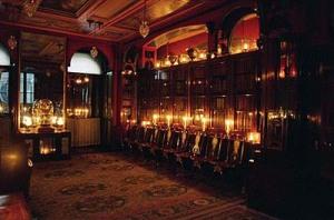 Regency Drawing Room by night