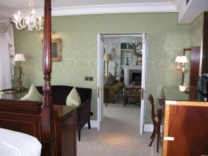 Gainsborough SIlks in Royal Suite at The Goring Hotel