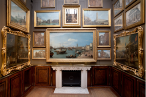 Classic gallery with innovative use of space