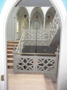 Balustrade designed by Mr Bentley