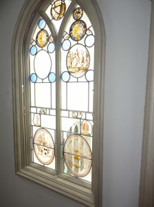A natural palette of stained glass