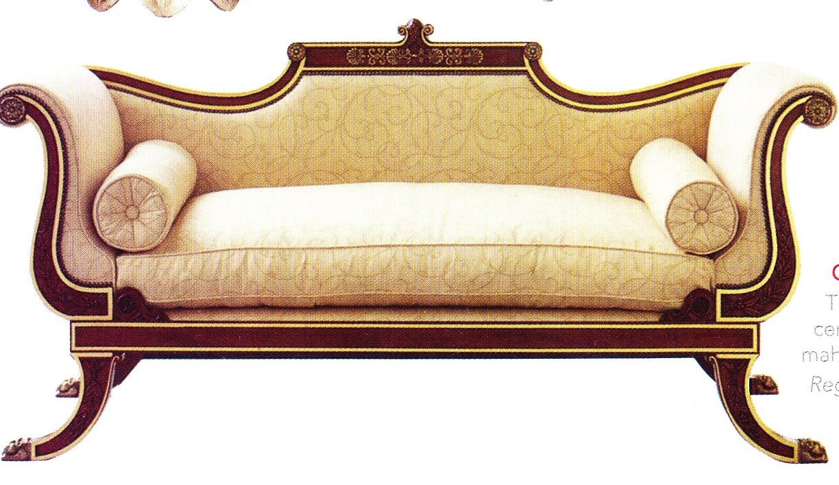 Spotting a regency piece of furniture to work within your for Design classics furniture reproductions