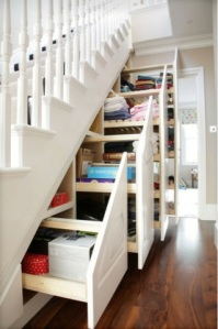 Neat storage solutions for period homes