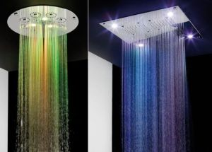 The ultimate showering experience