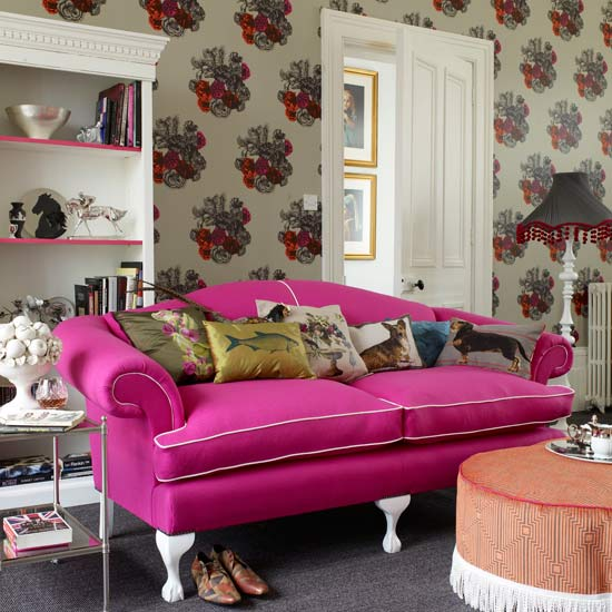 Eclectic styling georgian regency interiors for Eclectic living room ideas