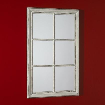 Georgian sash window mirror