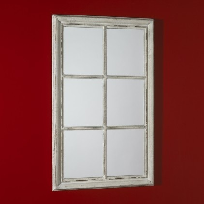 Georgian sash window mirror