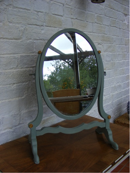 Georgian style swing mirror