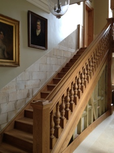 A staircase built by Shilstone's joiners