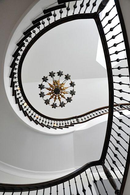 Spiral staircase Georgian Regency
