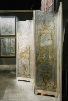 Decorative Menagerie Screen