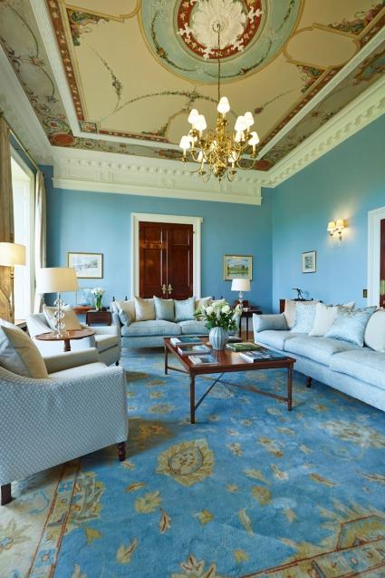 Georgian drawing room rug
